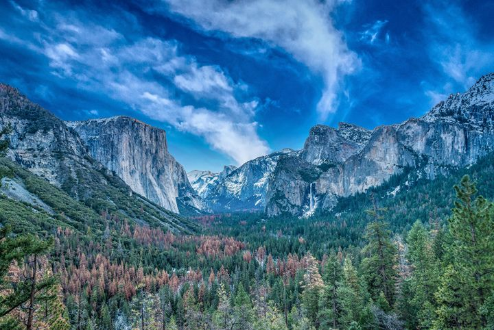 Magnificent Tunnel View of Yosemite - My Captures