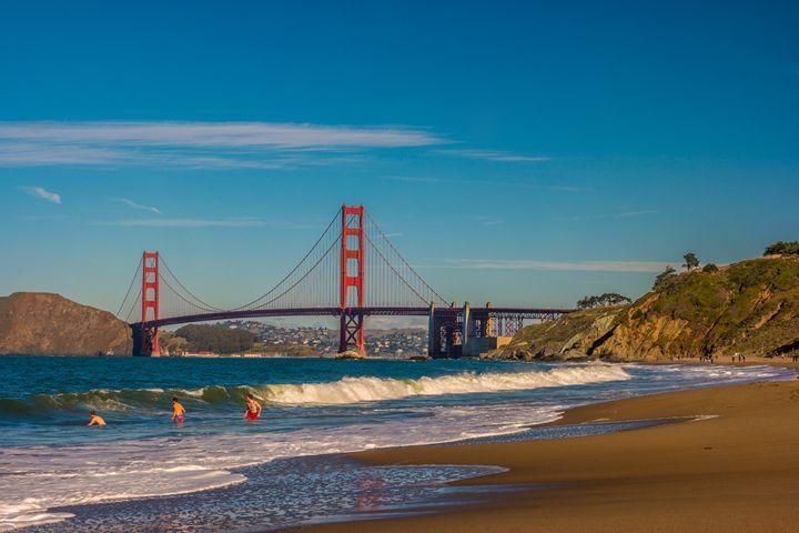 Golden Gate Bridge - San Francisco, - My Captures