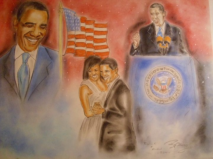 barrack and michelle - paul a. williams