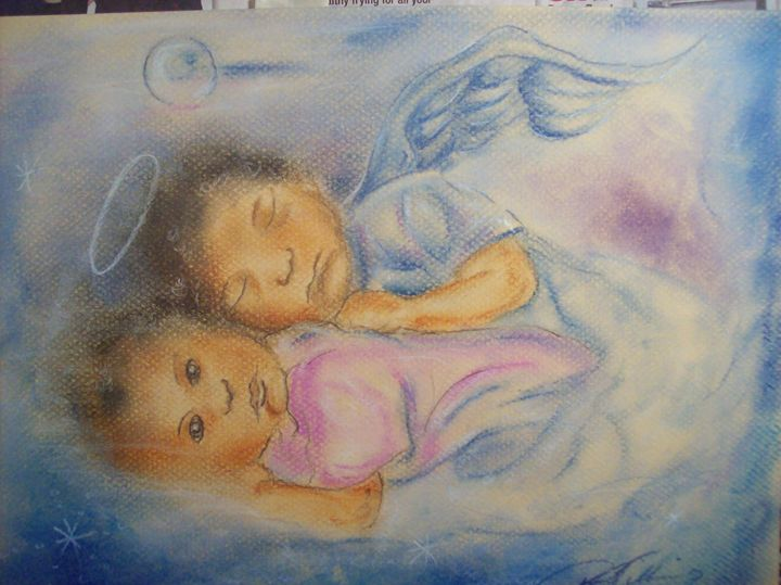 my guardian angel fell asleep - paul a. williams