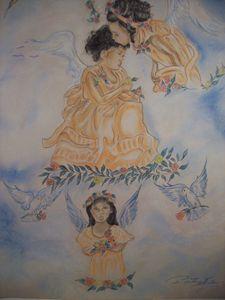 angel flower girls