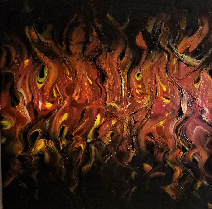Sea of Flames - The Pour Ladies