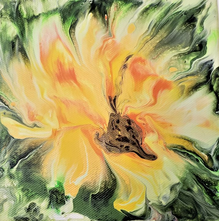 Sunny Flower   SOLD - The Pour Ladies