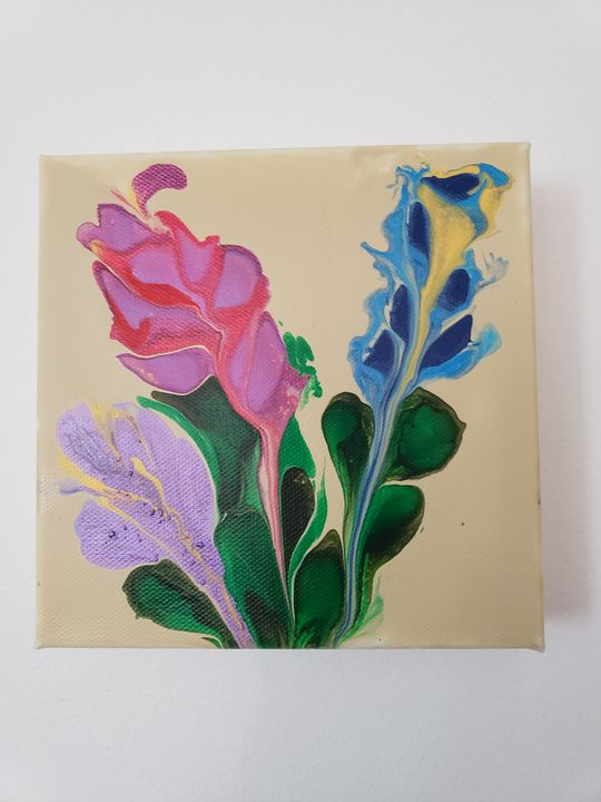 Summer flowers  SOLD - The Pour Ladies