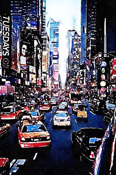 Traffic - Layne Kearns Art