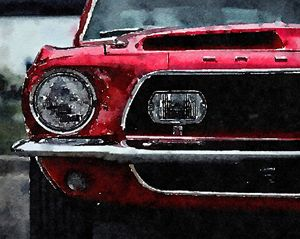 Fast Car - Layne Kearns Art