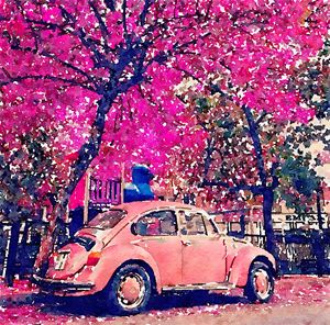 Pink Blossoms - Layne Kearns Art