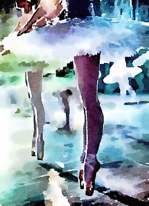 The Ballet - Layne Kearns Art