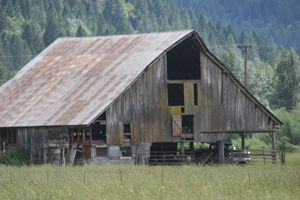 Old Barn Rogue River Oregon