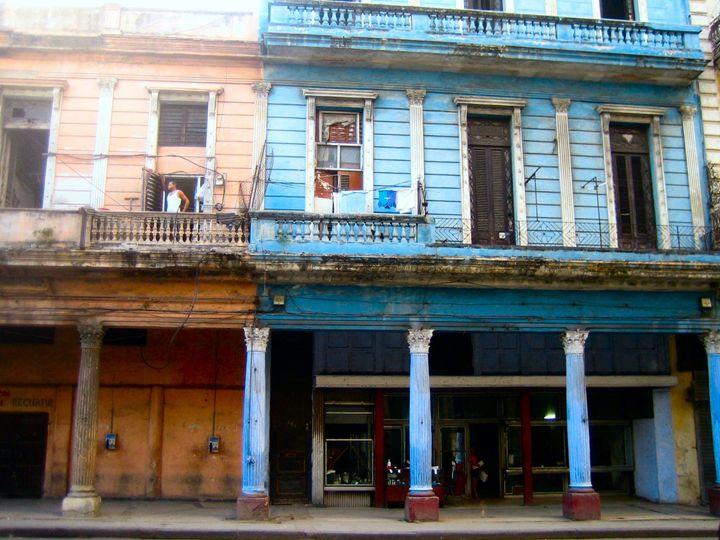 Old Havana house - John Brooks Art & Photography