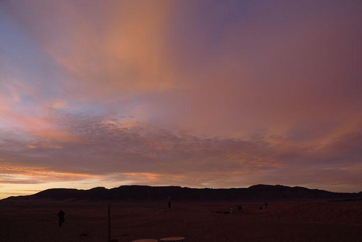 Sahara sunrise 3 - John Brooks Art & Photography