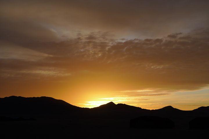 Sahara sunrise 1 - John Brooks Art & Photography
