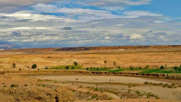 Borders of the Sahara - John Brooks Art & Photography