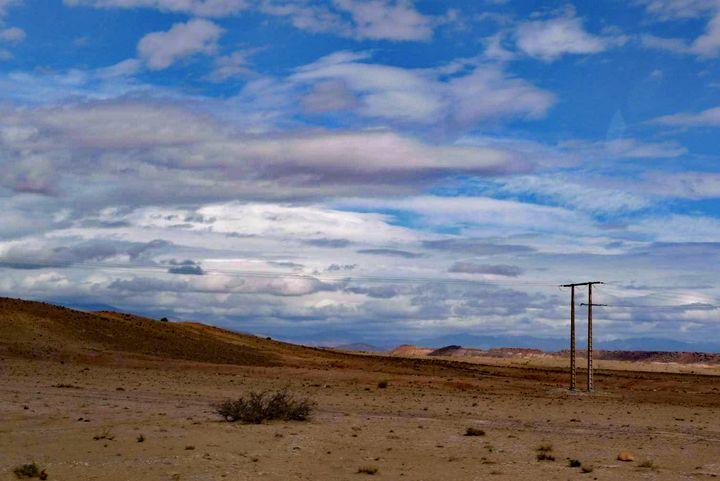 Desert clouds - John Brooks Art & Photography