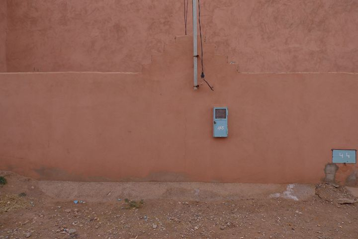 Orange wall - John Brooks Art & Photography
