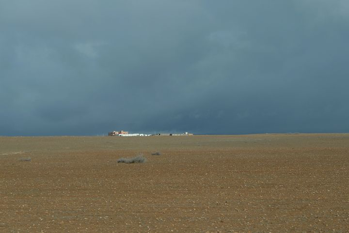 Storm brewing over the Sahara 2 - John Brooks Art & Photography