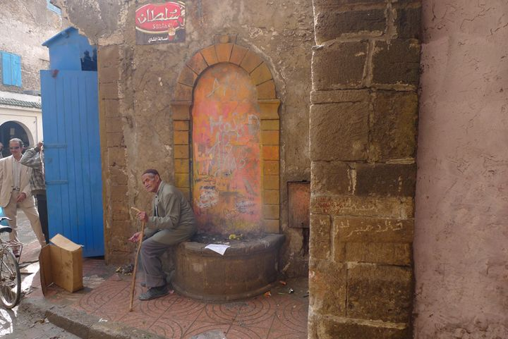 Resting in Essaouira - John Brooks Art & Photography
