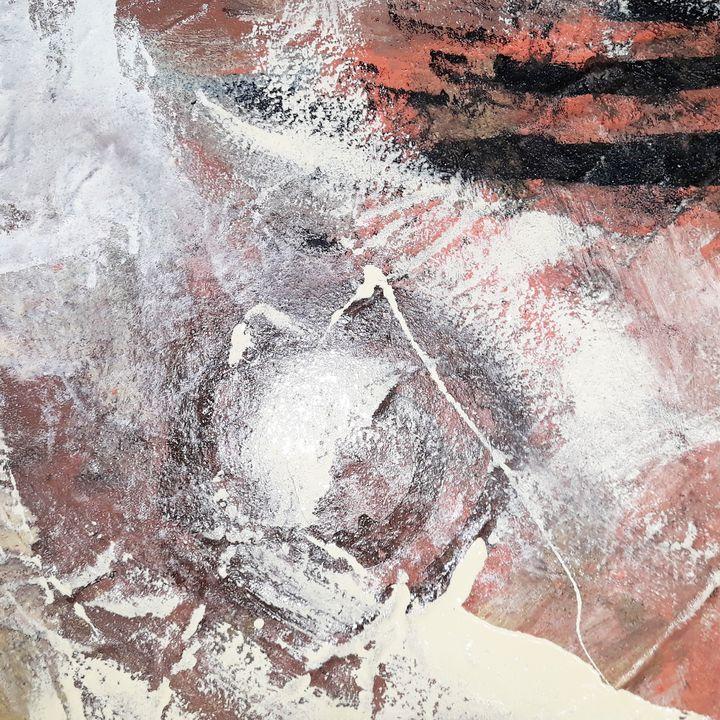 Tableau abstrait - Lamaison marie feance