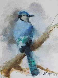 Blue Jay - Mark Sypesteyn fine art