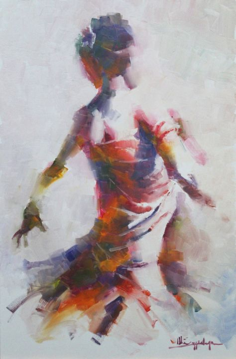 Dancer - Mark Sypesteyn fine art