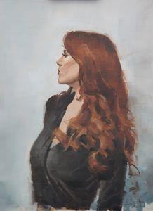 Gina - Mark Sypesteyn fine art