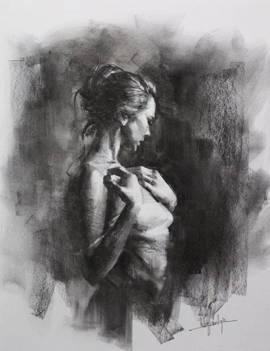 Contemplating - Mark Sypesteyn fine art
