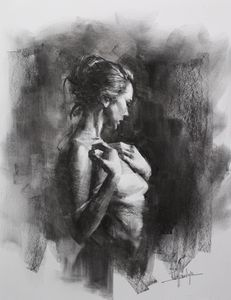 Contemplating - Mark Sypesteyn fine art