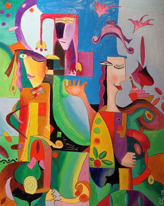 Arlequin - Deltaki Art