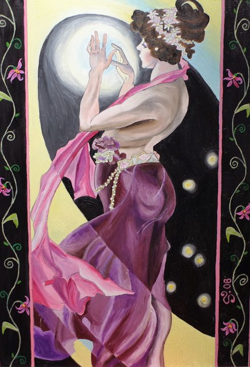 Evening Star - Deltaki Art