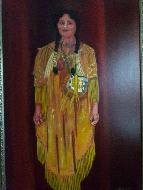 Big Chiefs Wife - American Scene Painter