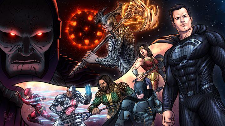 Zack Snyder's Justice League - Pradeep Sethi Art