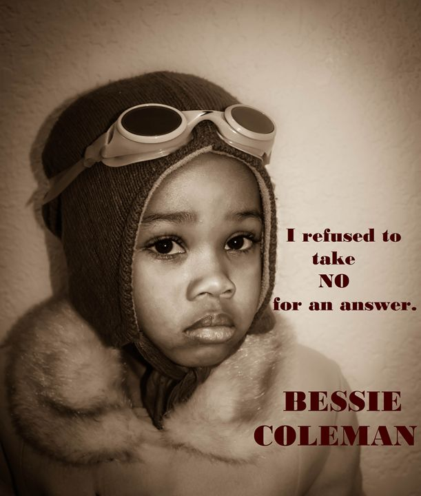Bessie Coleman - Charisse Sims Photography