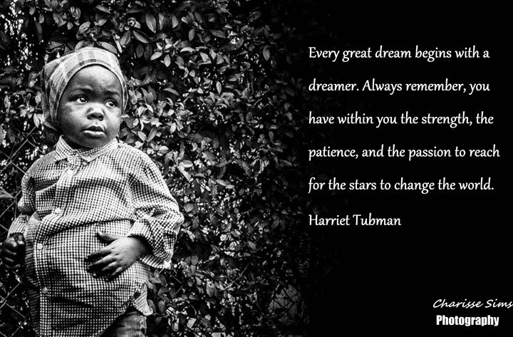 Harriet Tubman - Charisse Sims Photography