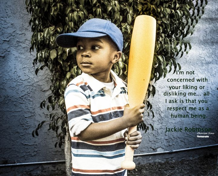 Jackie Robinson - Charisse Sims Photography