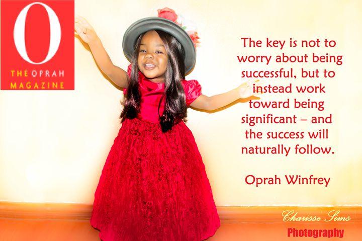 Oprah Winfey - Charisse Sims Photography