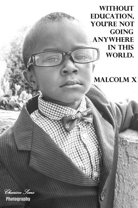 Malcom X - Charisse Sims Photography