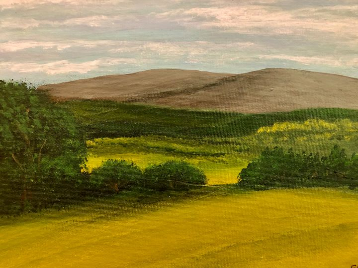 Palouse view - S. Bethune Paintings