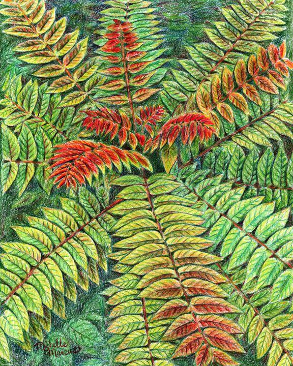 Foliage Festival - Michelle Marcus Art