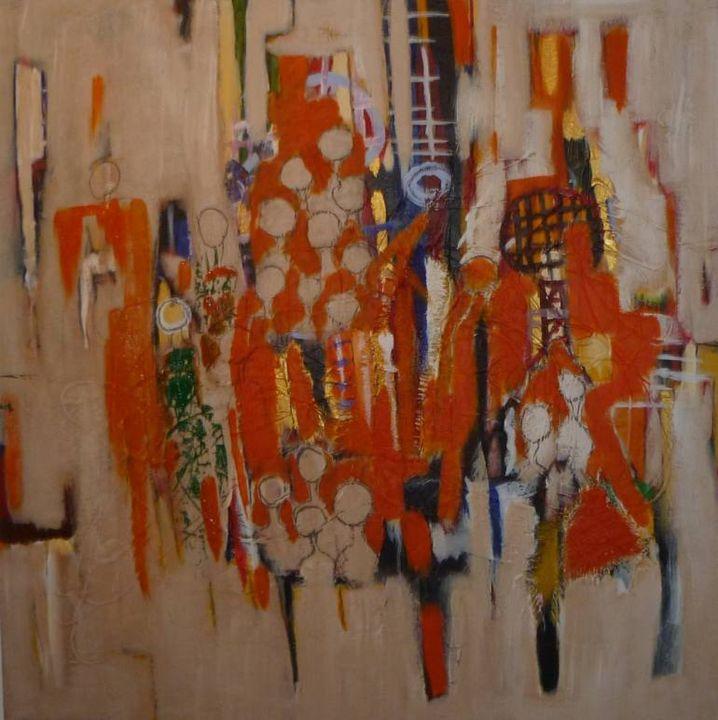 It's a new dawn 3 - La grace abstracts art