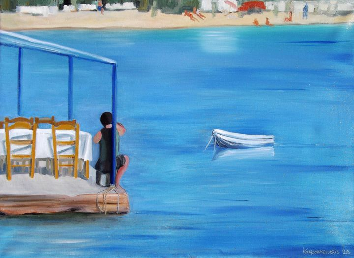 Fisherman - Kostas Art