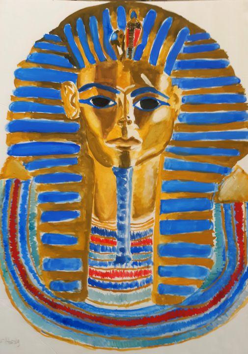 Mask of King Tutankhamen - Walter Gordon