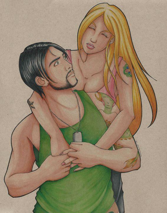 Jun and Adrian 1 - SJJ Art