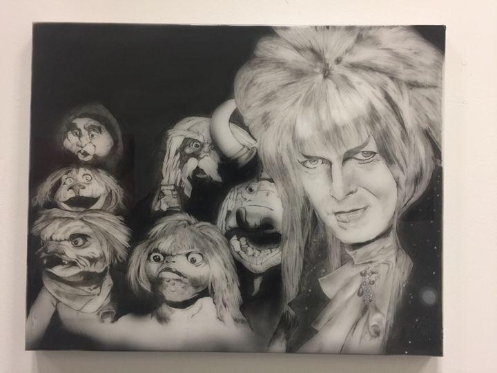 Labyrinth's Goblin king - Kolb Kustom