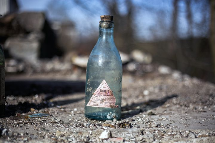 An Old Gasoline Bottle - iHateFabian
