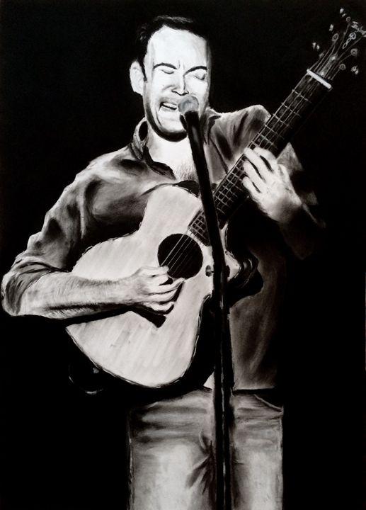 Dave Matthews - Charcoolart