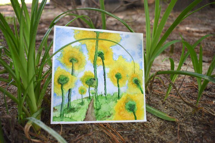 Sunflowers - SeviPaints