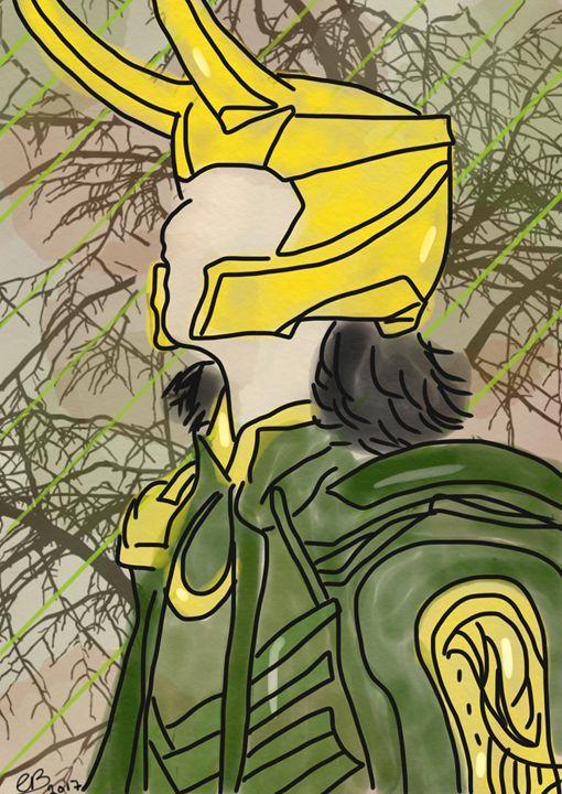 Loki Laufeyson - Kiwi's Doodles