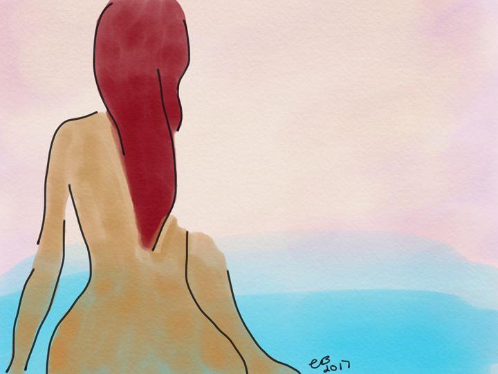 Stillness - Kiwi's Doodles
