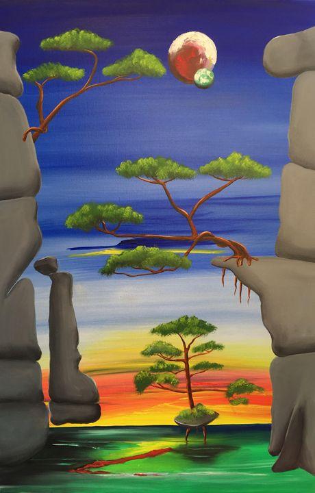 Cliffs of Escape - Mark Moore Artist