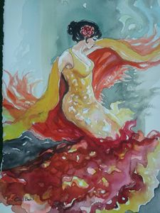 "EDITBAKK "" SPANISH DANCER II """